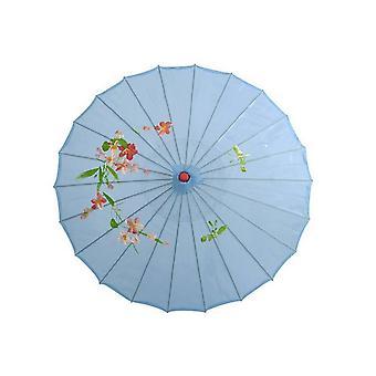 Rain Chinese Fengshui Silk Dance Decorative Bamboo Umbrella