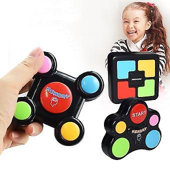 Мозг тизер памяти игры, игра-головоломка для возрастов от 3 до 103, электронная игра памяти, игра Smart для детей, подарки для детей
