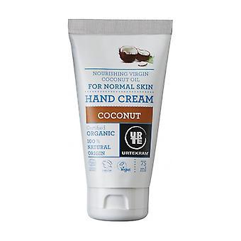 Coconut Hand Cream 75 ml of cream
