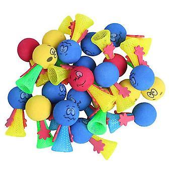 Nouveauté Jumping Nylon Mesh Toys, Stress Relief Elfes Balls 12pcs