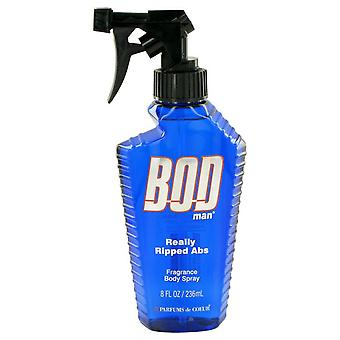 Bod Man Really Ripped Abs Fragrance Body Spray By Parfums De Coeur 8 oz Fragrance Body Spray