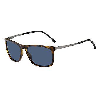 Hugo Boss 1249/S N9P/KU Matte Havana/Blue Avio Sunglasses