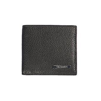 Black Wallet Trussardi Man