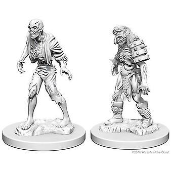 D&D Nolzur's Marvelous Unpainted Minis Zombies (Pack of 6)