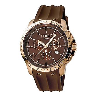 Ferre Milano Chronograph Brown Dial Men's Watch FM1G078P0021