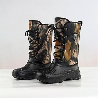 Outdoor Camouflage Waterproof Non-slip Water Boot - Military Walking Warm Ski
