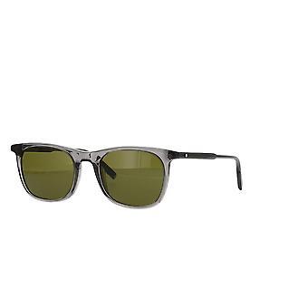 Montblanc MB0007S 003 Grey/Grey Sunglasses
