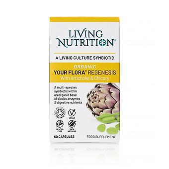 Living Nutrition Your Flora Regenesis Caps 60 (LN2010)