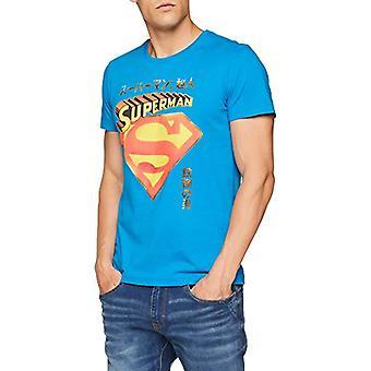 s.Oliver 20.807.32.1234 T-paita, sininen (itämainen sininen 64A1), L Man