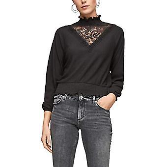 Q/S designed by - s.Oliver 510.10.012.12.130.2056116 T-Shirt, Black, M Woman