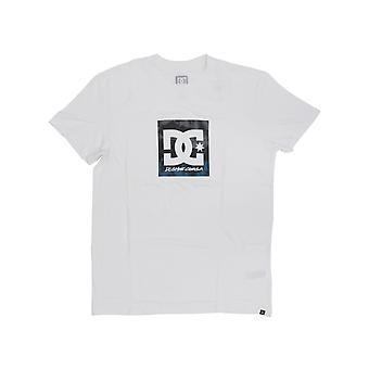 DC Double Down Short Sleeve T-shirt in wit