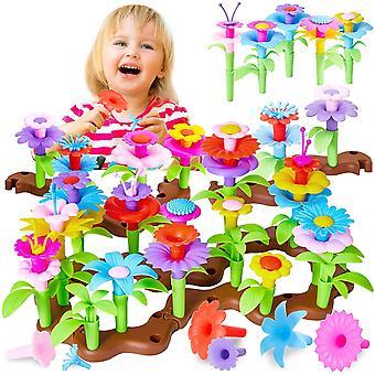 FengChun Blumengarten Spielzeug fr Mdchen Gartenspielzeug DIY Blume Bausteine Rollenspiel Geschenk