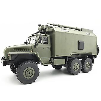 B36 Ural 1/16 2.4G 6WD Rc Communication Vehicle RTR Toy for Boy New Years|RC Trucks(Green)