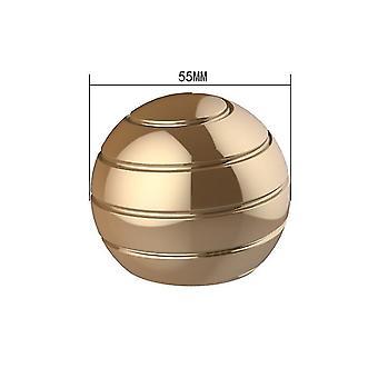 55mm זהב להסרה שולחן מסתובב הכדור העליון, קצות האצבעות מסתובב העליון, צעצוע לחץ az6321