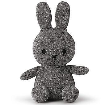 Miffy Sparkle Glitter Silver Soft Toy