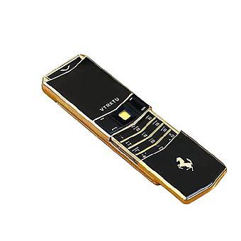 V05 déverrouiller téléphone slide de luxe corps en métal double sim bar mobile bt cadran cool mini carte mp3 vibration avec caméra fm