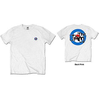 The Jam - Target Logo Men's Medium T-Shirt - White