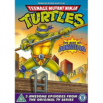 Teenage Mutant Ninja Turtles: Bäst av Donatello DVD