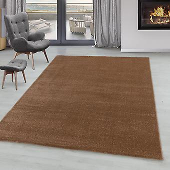 Woonkamer tapijt IROH zachte stapel korte stapel monochrome moderne effen kleuren