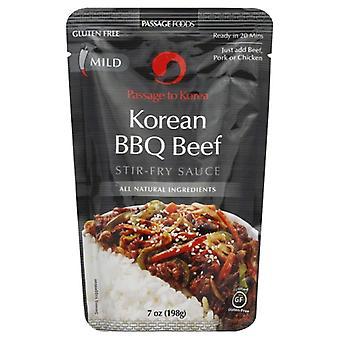 Passage Foods Sauce Strfry Korea Bbq Be, tilfælde af 6 X 7 Oz