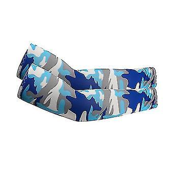 UV-Sonnenschutz Armhülsen - Upf 50 Sportkompressionskühlhülle (Camouflage1)