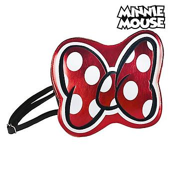 Shoulder Bag Minnie Mouse 72811 Red Metallic