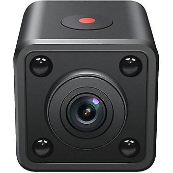 كاميرا تجسس مصغرة HD 1080P كاميرا خفية لاسلكية-120 ° زاوية واسعة قابلة لإعادة الشحن الرئيسية IP واي فاي كاميرا الأمن عن بعد مع الرؤية الليلية الذكاء الاصطناعي كاميرا الكشف عن جسم الإنسان (أسود)