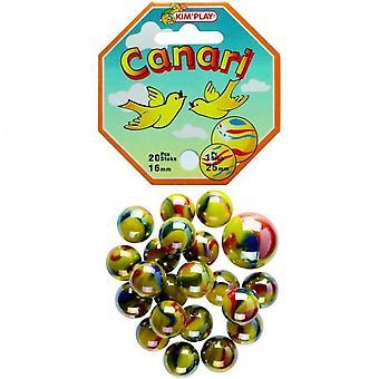 Kimplay 20 + 1 Canarische Ballen