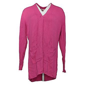 Исаак Мизрахи Live! Женский свитер Кардиган Розовый A392229