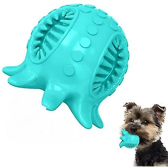 Dog toy ball teeth cleaning octopus shape(Green)