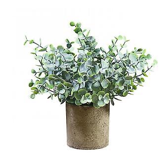 Piante artificiali in vaso piante in vasi per l'arredamento domestico Ufficio Decorazione scrivania (Stile2)