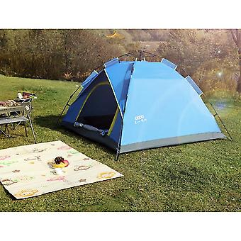 Outdoor Camping Tent High-top Automatic Tent Quick Opening Free Tent Waterproof And Rainproof Tent 4-person Tent Hl-0103