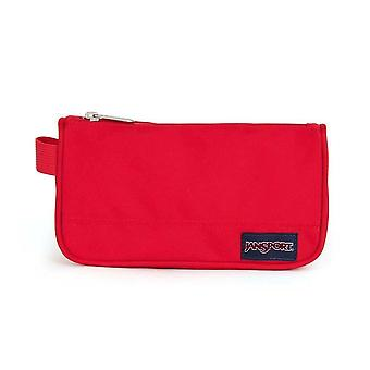 Jansport Medium Accessory Pencil Pouch - Red Tape