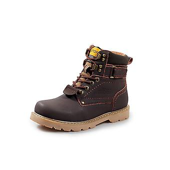 Men's And Women's Combat Motorcycle Boots Short Boots Lace-up Riding Hiking Casual Shoes