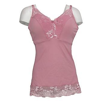 Rhonda Shear Plus Camisole Pin Up Pink Chemise 673231