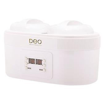 DEO Dubbel Digital Vaxvärmare med upphöjd innerkammare - 1000cc & 1000cc