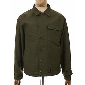 Deus Ex Machina A2 Coach Jacket - Military Green