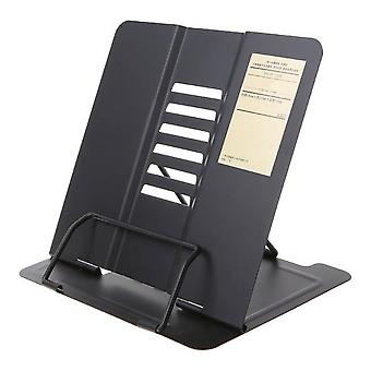 Kannettava metalli säädettävä lukukirjanpidin tukiasiakirja Hylly Bookstand | Kirjanen