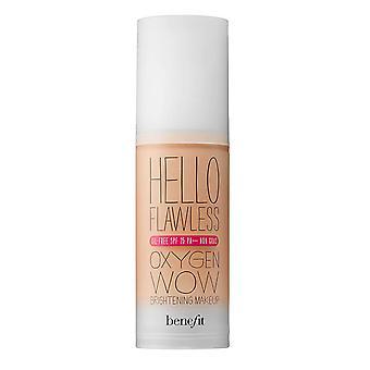 BeneFit Hello Flawless Ljusare Makeup SPF25 30ml Kronblad