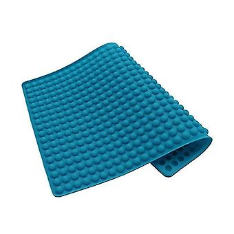 Baking cookie sheets silicone baking mat 1.2 Cm hemisphere silicone mat with knobs baking mould for dog blue