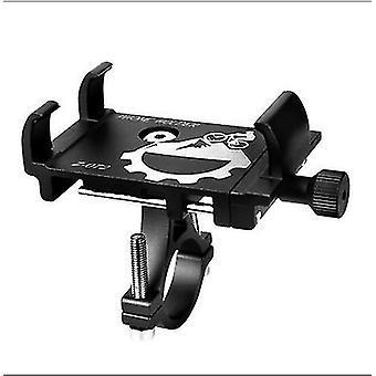 soporte para motocicleta y bicicleta para teléfono móvil Riding Navigation bracket (Negro)