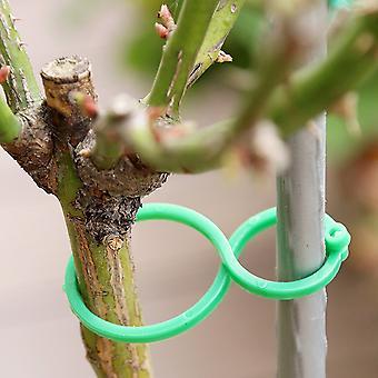 50/100 Stück Garten Pflanzenhalter Gitter Clips für Wein gemüse Neue Tomate Anbau aufrecht Garten Pflanze Stand Werkzeug