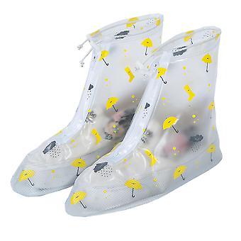 Homemiyn Pvc Middle Tube Adult Rain Boots Cover