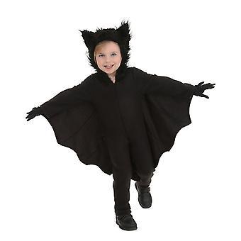 Halloween Cos Puvut Lapsille Vampyyri Lepakko Yksiosainen Puku + Hanskat (110-150cm)