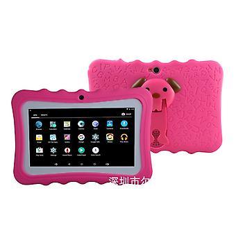 Barn lærer smart tablett 1g + 8gwifi Bluetooth 7 tommers