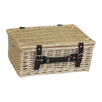 36cm Summer Willow Empty Picnic Basket