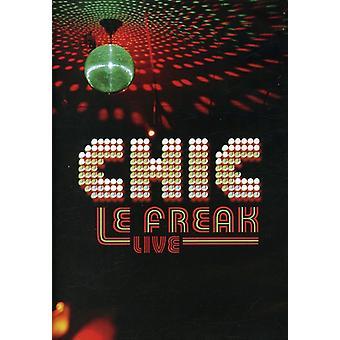 Chic - importação E.U.A. Le Freak-Live [DVD]
