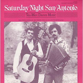 Corrales/kung/Los Folkeros grupp - lördag natt San Antonio: Tex-Mex dansmusik [CD] USA import