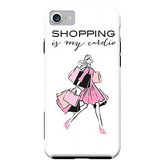 Garota de Shopping casos Designers ArtsCase para iPhone dura 8 / iPhone 7