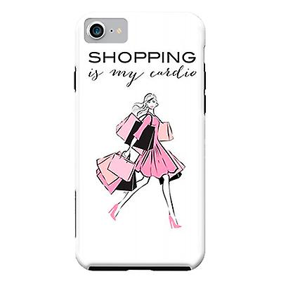 ArtsCase Designers Cases Shopping Girl for Tough iPhone 8 / iPhone 7